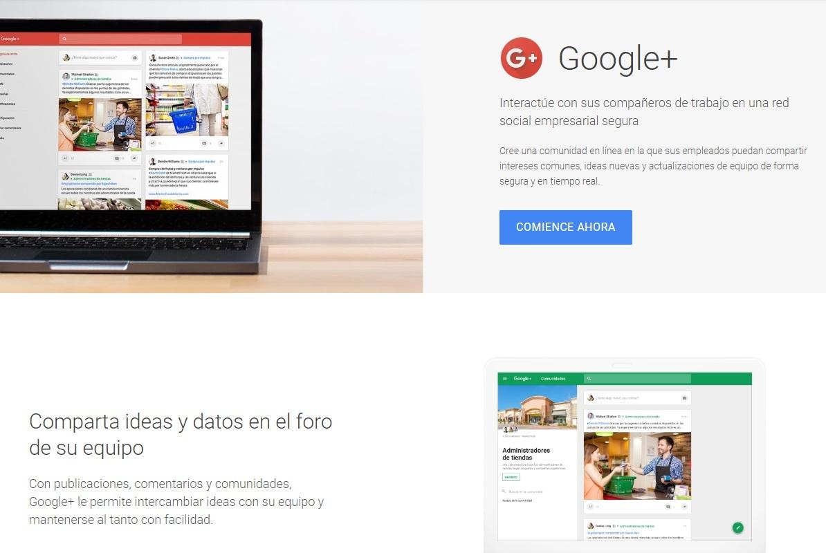 Google+ empresas