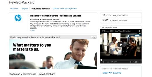 HP LinkedIn