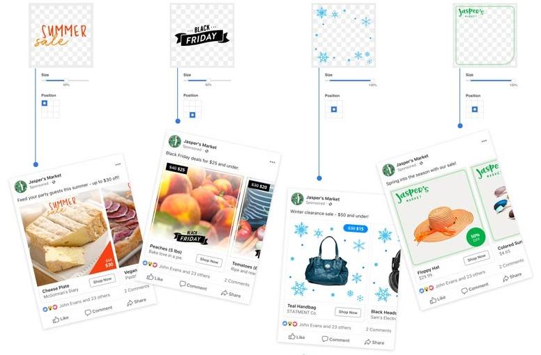 capas de personalización (Facebook Overlays) 1