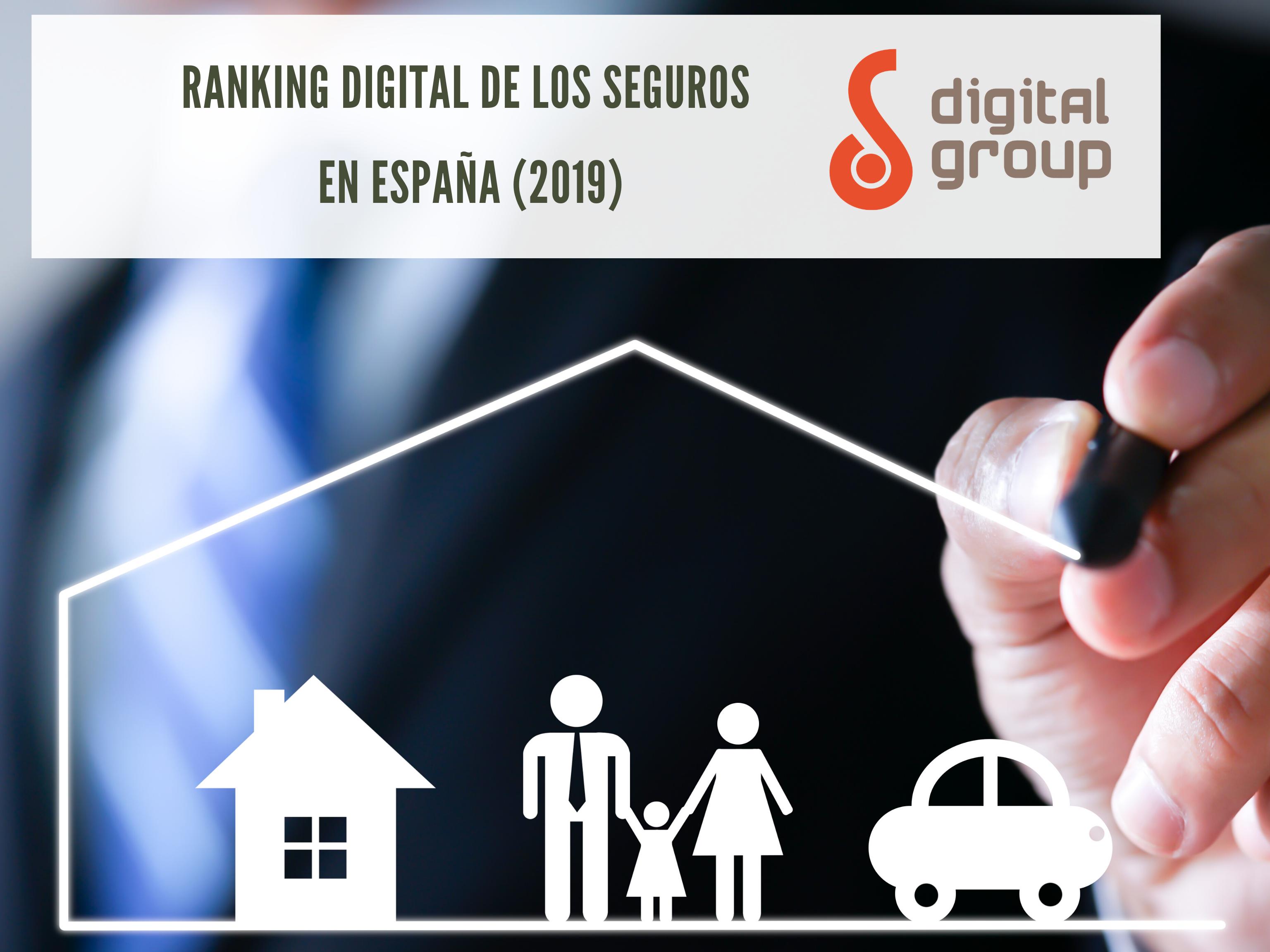 Ranking Digital de los Seguros en España (2019) -  DigitalGroup.es